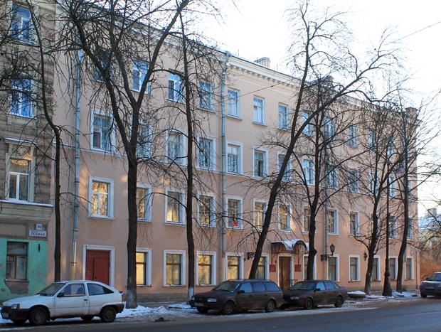 Жилищное хозяйство кронштадтского р-на