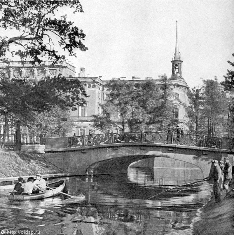 Нижний Лебяжий мост, Архитектор Базен П. П., Готман А. Д., Ремезов ...