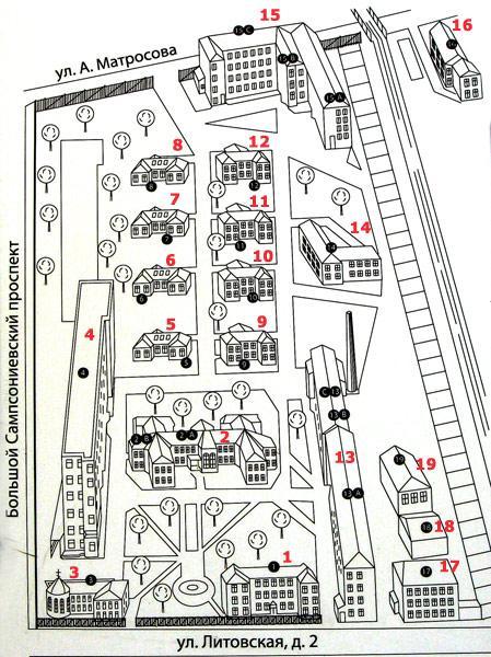 67 больница схема корпусов