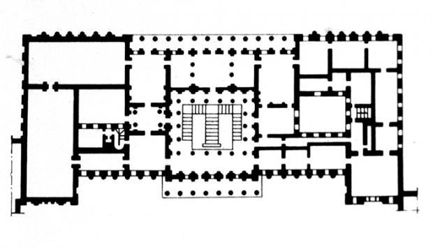 План здания.